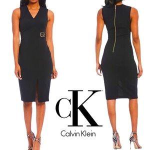 NWT Calvin Klein dress midi sheath